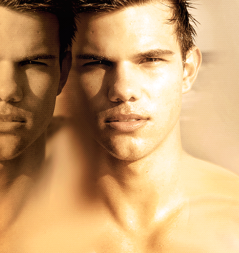 Taylor Lautner wallpaper probably with a portrait and skin called Taylor