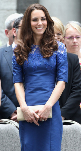 The Duke And Duchess Of Cambridge Canadian And North American Tour - Quebec
