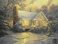 Thomas Kinkade Winter - winter fan art
