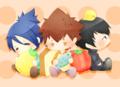 Tsuna, Hibari & Mukuro