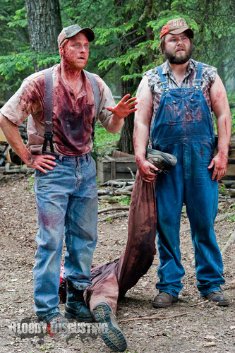 Horror Movies wallpaper containing a herring called Tucker & Dale vs. Evil