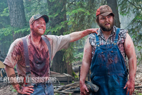 Filem Seram kertas dinding entitled Tucker & Dale vs. Evil