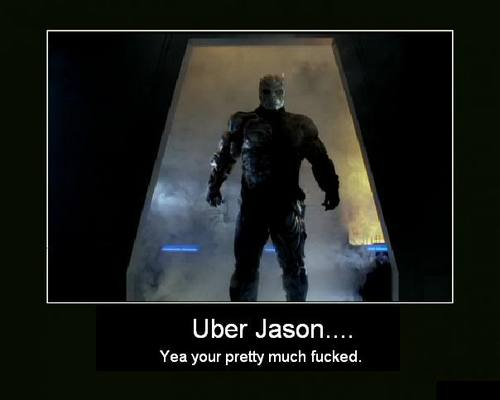 फ्राइडे द थर्टीन्थ वॉलपेपर probably containing ऐनीमे called Uber Jason