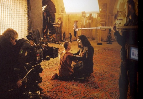 V for Vendetta - On Set