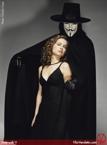 V for Vendetta Promotional Photoshoot