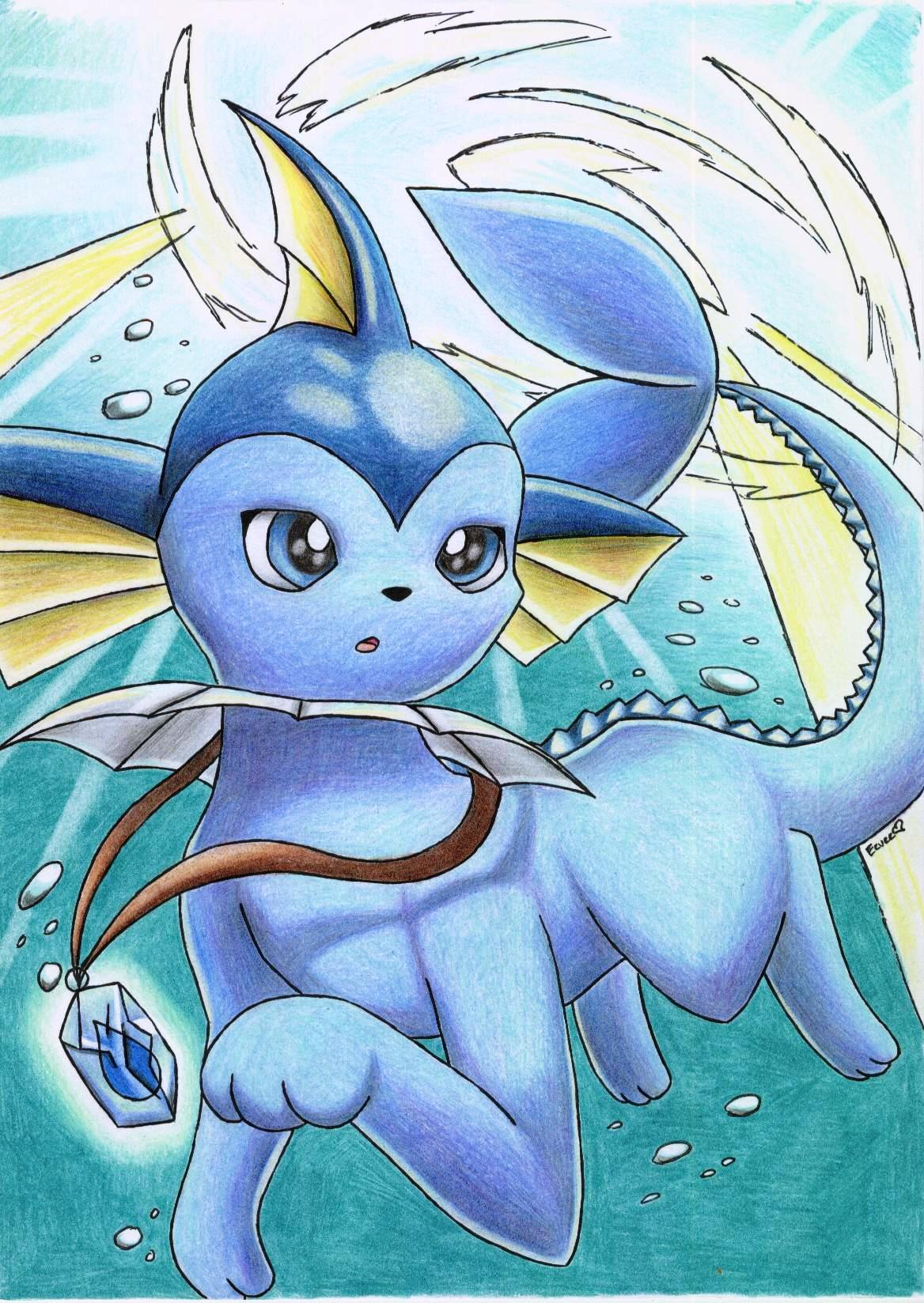 Pokemon x And y Vaporeon Vaporeon Underwater Pokemon