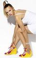 Caroline Wozniacki has Funky Footwear