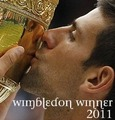 Wimbledon Winner 2011 - Djokovic - tennis photo