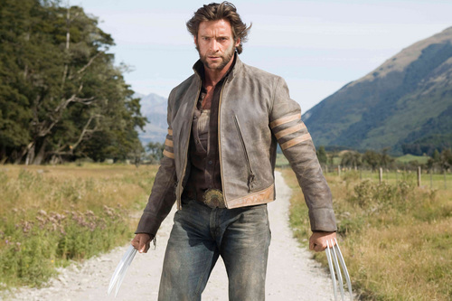 Hugh Jackman as Wolverine wolpeyper possibly containing a business suit titled Wolverine