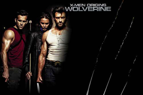 Hugh Jackman as Wolverine wallpaper possibly containing a fonte and a sign titled Wolverine