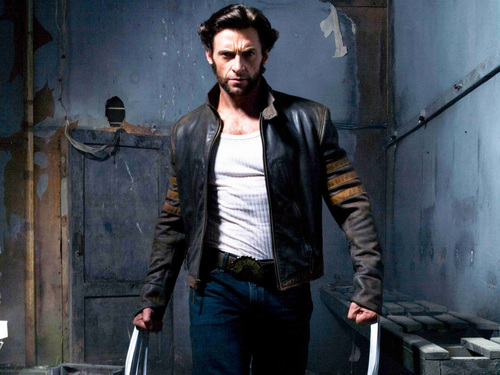 Hugh Jackman as Wolverine wallpaper probably containing a business suit, a hip boot, and a well dressed person called Wolverine