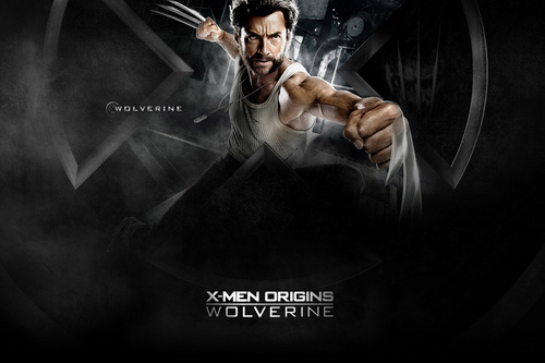 Hugh Jackman as Wolverine wolpeyper called Wolverine