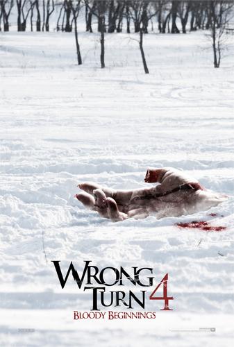 Wrong Turn 4: Bloody Beginnings Posters