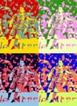 Xavi Pop art - xavi-hernandez fan art