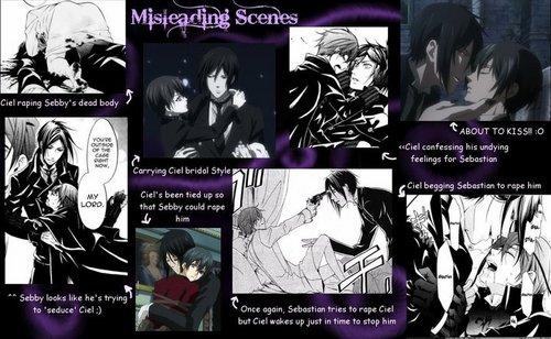 Misleading Scenes.