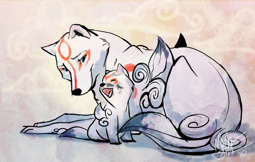 amaterasu and her son