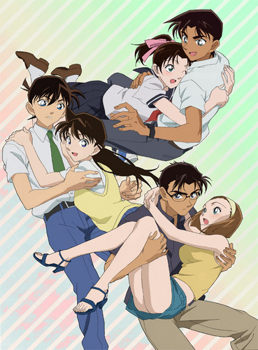 shinichi x ran wallpaper with anime entitled beautiful couples