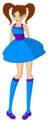 dakota as a child - winx-club-ocs photo