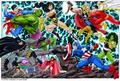 dc vs marvel  - dc-univers-vs-marvel photo