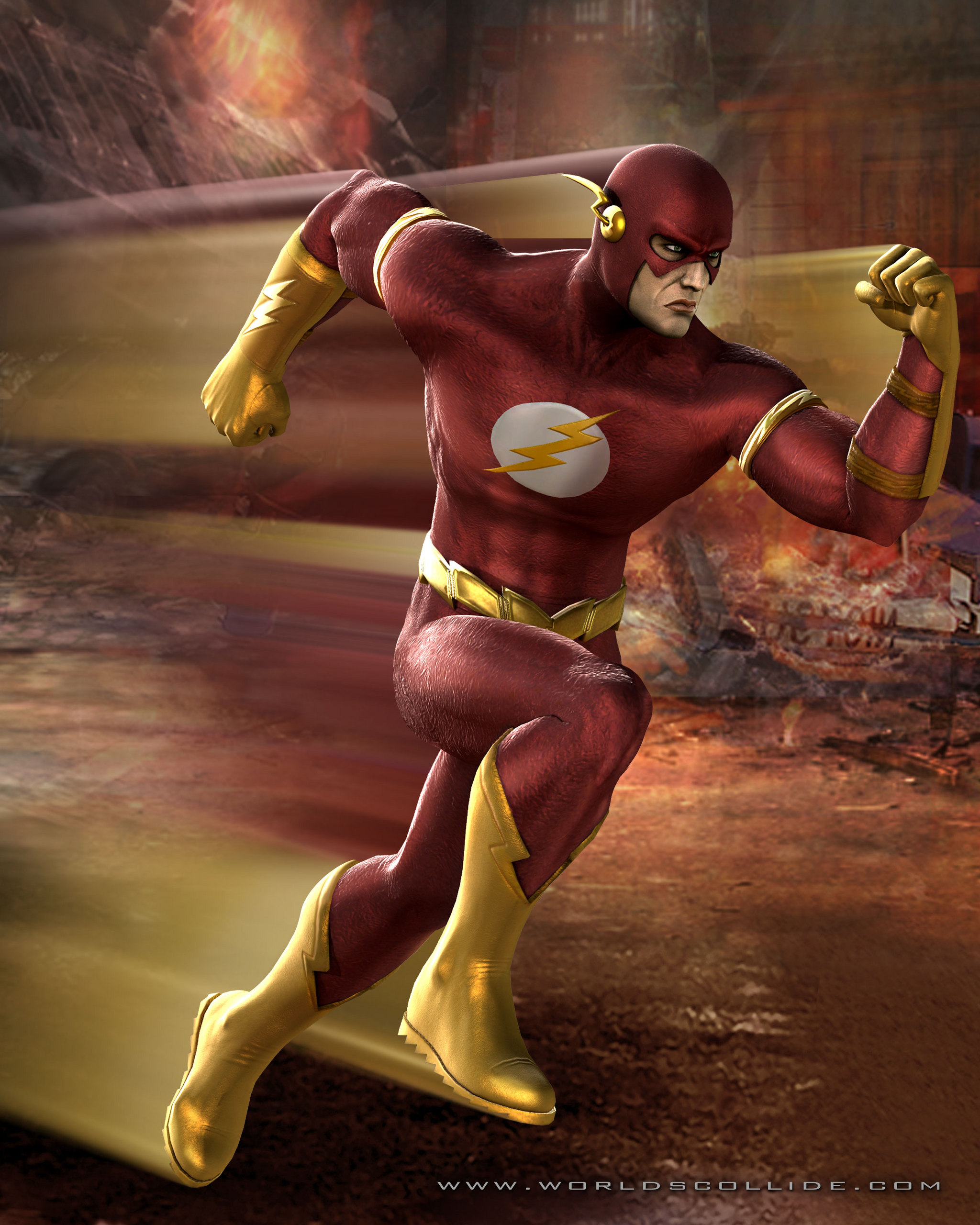 Dc univers vs marvel flash