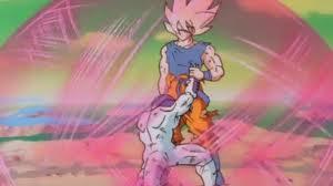 goku fighting freeza