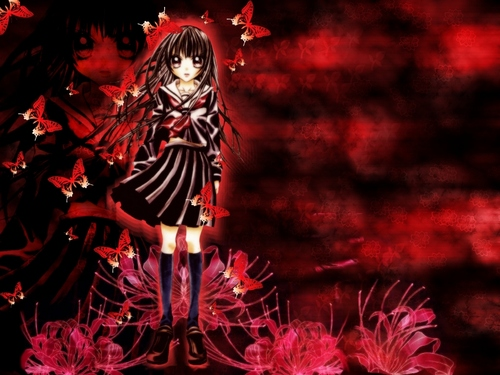 hell girl - the-hell-girl Wallpaper