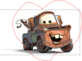i love mater - mater-the-tow-truck fan art