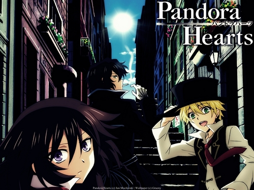 Pandora Hearts wolpeyper probably containing anime entitled pandora hearts