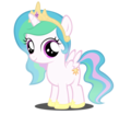 princess celestia as a filly