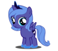 princess luna as a filly