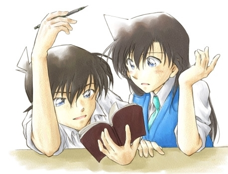 ran and shinichi are studying