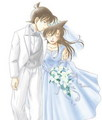 ran and shinichi wedding