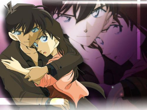 shinichi x ran wallpaper containing anime called shinichi x ran