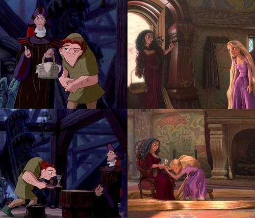 Rapunzel - L'intreccio della torre Hunchback of Notre Dame