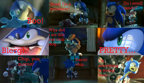 sonic thing funny