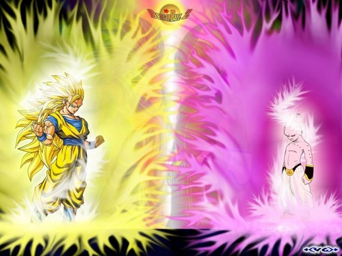 dbz rampage wallpaper titled ssj3 goku  V   Kid Buu