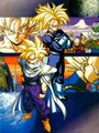 trunks and gohan.