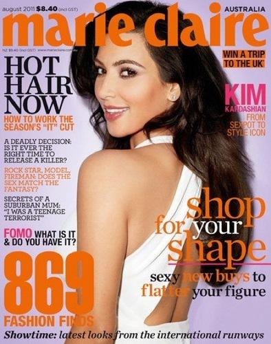 'Marie Claire' Australia August 2011.