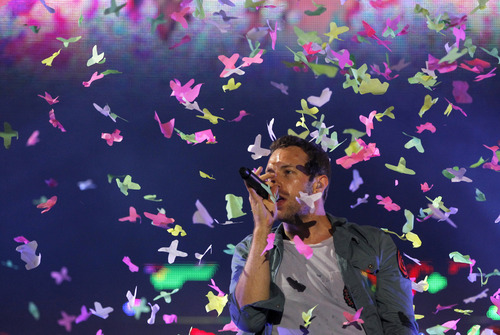 Coldplay wallpaper with a concert and a japanese apricot titled 'Optimus Alive' Festival in Portugal - Day 1 [June 6, 2011]