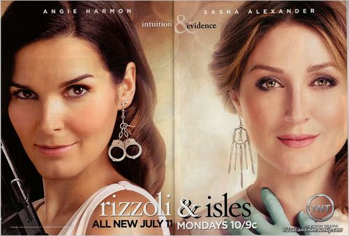 Rizzoli & Isles wallpaper containing a portrait called -Rizzoli & Isles-
