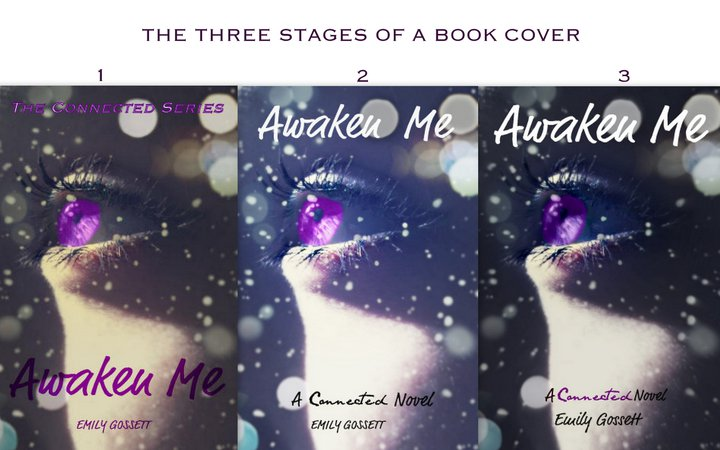 3 stages of the book cover