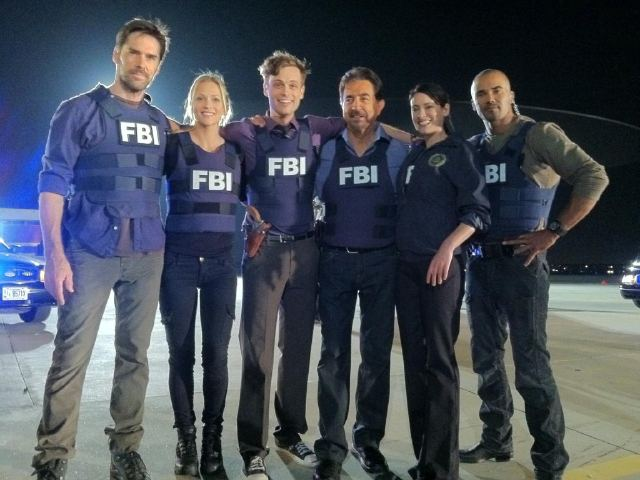 Criminal Minds 7x01 It Takes A Village Behind The Scenes