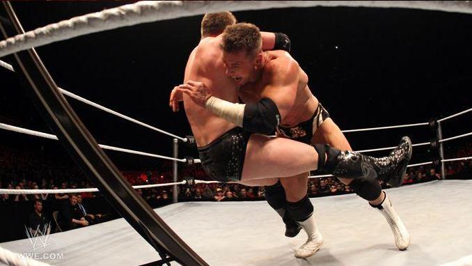 Monday Night RAW - July 11th, 2011 - Alex Riley Photo
