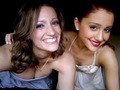 Ariana with cousin - ariana-grande-and-elizabeth-gillies photo