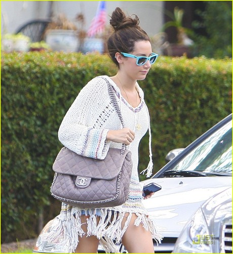 Ashley out in West Hollywood