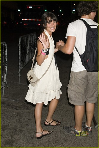 At OneRepublic and Sara Bareilles concert - July 7, 2010