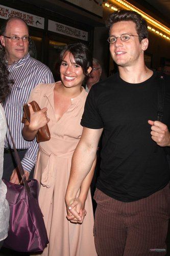 At 'The Book of Mormon' musical on Broadway - June 10, 2011