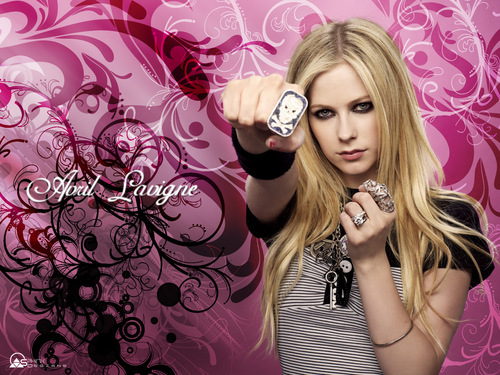 avril lavigne wallpaper possibly with a parasol and a portrait entitled Avril <3