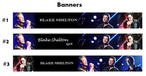 Blake Shelton - Banners