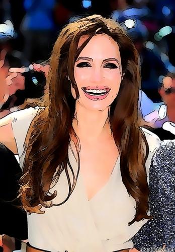 Cartoon Jolie